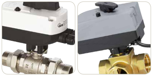 ACTUATORS AND MOTORIZED VALVES