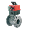INDUSTRIAL VALVES WITH ELECTRIC ACTUATORS